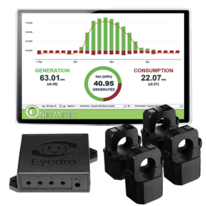 Eyedro EYEFI-4-EU WiFi connected solar readyhome energy monitor 220V - 240V