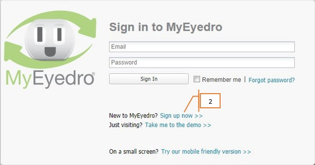MyEyedro Signup