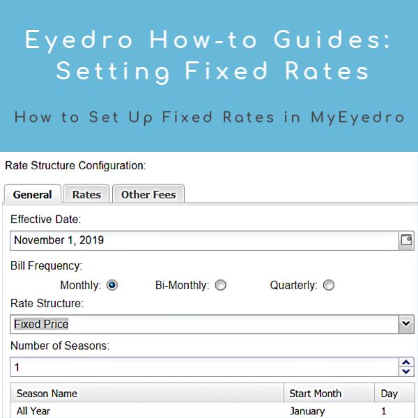 How to Set Up MyEyedro Fixed Rates