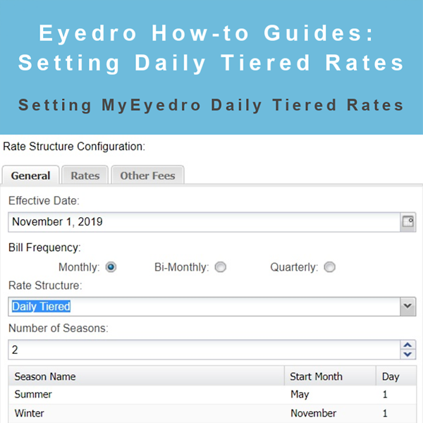 How to Set Up Daily Tiered Rates in MyEyedro