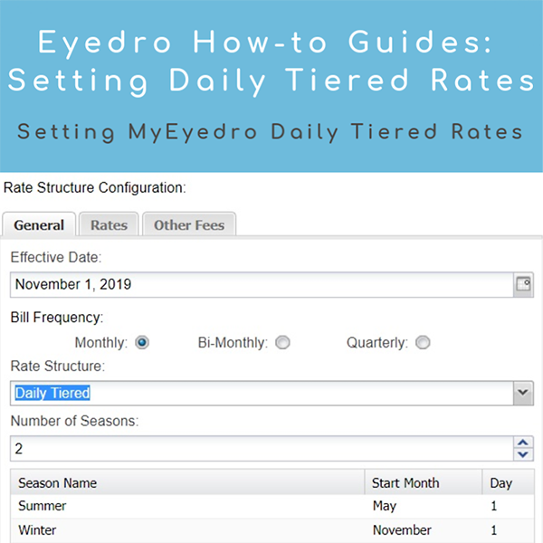 How to Set Up Daily Tiered Rates