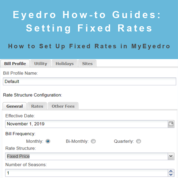 How to Set Up Fixed Rates in MyEyedro